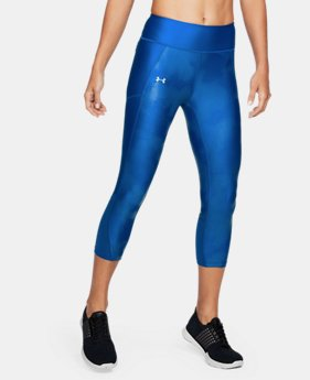 Women's UA Fly-By Printed Capris  1 Color $41.24 to $41.99