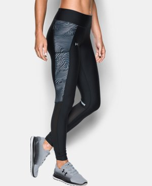 Women's UA Fly-By Printed Legging  4 Colors $59.99