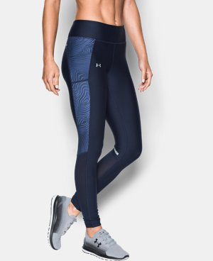 Women's UA Fly-By Printed Legging   $59.99