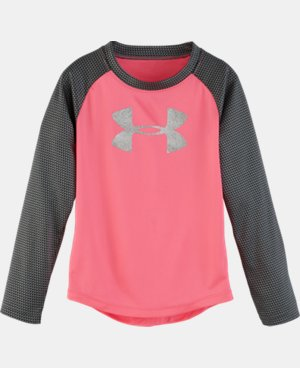 Girls' Infant UA Checkpoint Shimmer Raglan  LIMITED TIME: FREE U.S. SHIPPING 1 Color $20.99