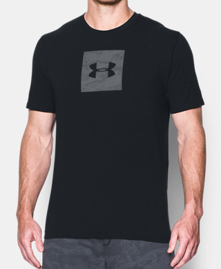 Men's UA Camo Boxed Logo T-Shirt