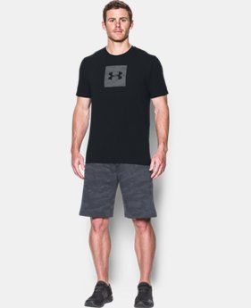 Men's UA Camo Boxed Logo T-Shirt  4 Colors $29.99
