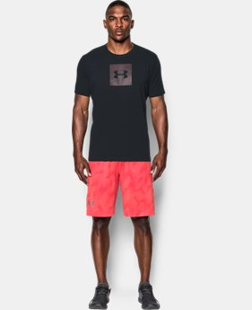 Men's UA Camo Boxed Logo T-Shirt  2 Colors $17.49