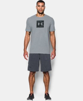 Men's UA Camo Boxed Logo T-Shirt  1 Color $17.49