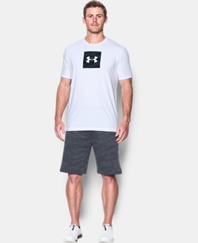 Men's UA Camo Boxed Logo T-Shirt  1 Color $29.99