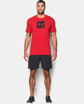 Men's UA Camo Boxed Logo T-Shirt  2 Colors $29.99