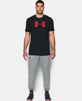 Men's UA Glitch Logo T-Shirt  1 Color $18.74 to $24.99