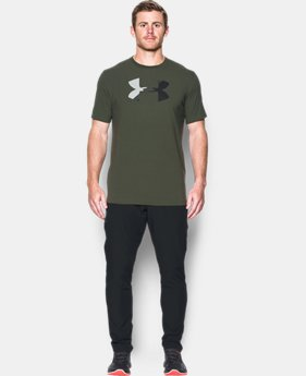 Men's UA Glitch Logo T-Shirt  1 Color $18.74