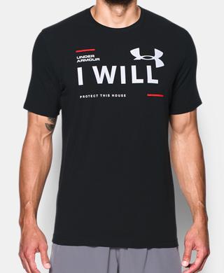 男子UA I Will T恤