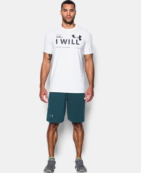 Men's UA I Will T-Shirt  1 Color $24.99