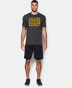 Men's UA x Project Rock Iron T-Shirt   1 Color $29.99
