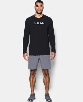 New Arrival  Men's UA Shift Center Chest Long Sleeve T-Shirt  3 Colors $26.24 to $34.99