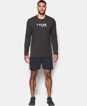 Men's UA Shift Center Chest Long Sleeve T-Shirt  4 Colors $22.49 to $29.99