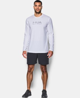 Men's UA Shift Center Chest Long Sleeve T-Shirt  4 Colors $29.99