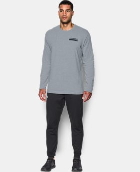 Best Seller Men's UA Back Graphic Long Sleeve T-Shirt  4 Colors $29.99