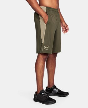 Men's UA Freedom Raid Shorts LIMITED TIME: FREE U.S. SHIPPING 3 Colors $29.99