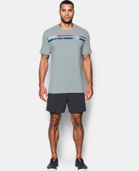 Men's UA Freedom American T-Shirt  1  Color Available $14.99