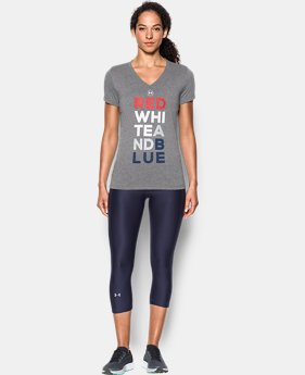 Women's UA Freedom V-Neck T-Shirt  1 Color $22.49