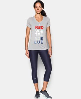 Women's UA Freedom V-Neck T-Shirt  1 Color $29.99