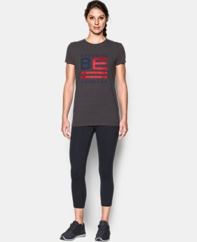 Women's UA Freedom Proud To Be T-Shirt  2 Colors $24.99