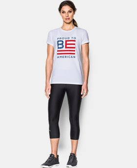 Women's UA Freedom Proud To Be T-Shirt  1 Color $18.74