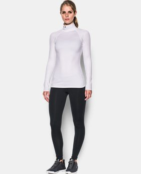 Women's ColdGear® Armour Mock Neck  1 Color $64.99