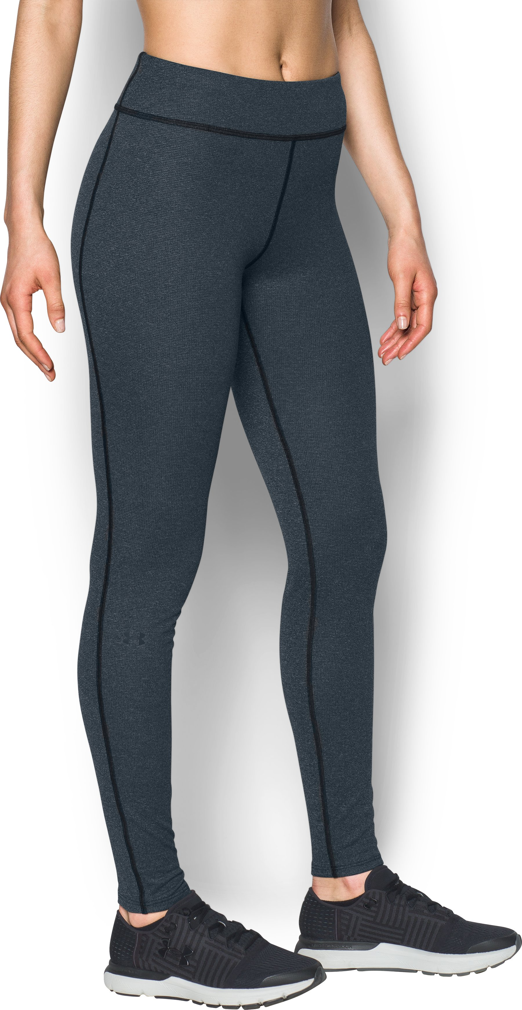Women's UA Wool Leggings, Black