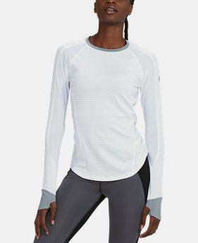 Women's UA HexDelta Long Sleeve  1  Color Available $64.99