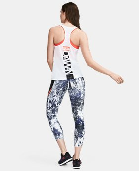 Women's UA Break Of Dawn Racer Tank  0  Color Available $0