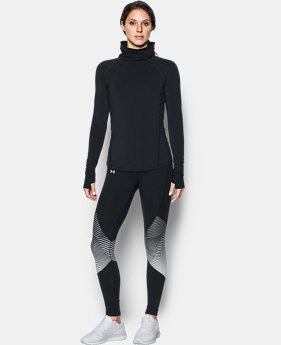 New to Outlet Women's ColdGear® Reactor Funnel Neck  1  Color Available $44.99