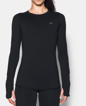 d5b0a5cc932b33 Best Seller Women s ColdGear® Armour Fitted Crew 1 Color Available  49.99.  1 Color Available. Black. ColdGear® Armour Fitted Crew. Women s Long Sleeve  Shirt