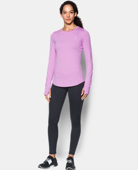New Arrival Women's ColdGear® Armour Fitted Crew  1 Color $49.99