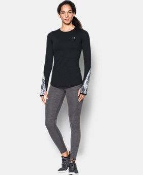 Women's ColdGear® Armour Graphic Crew  3 Colors $54.99