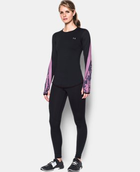 New Arrival  Women's ColdGear® Armour Graphic Crew  1 Color $69.99