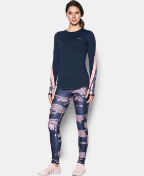 Women's ColdGear® Armour Graphic Crew  1 Color $69.99
