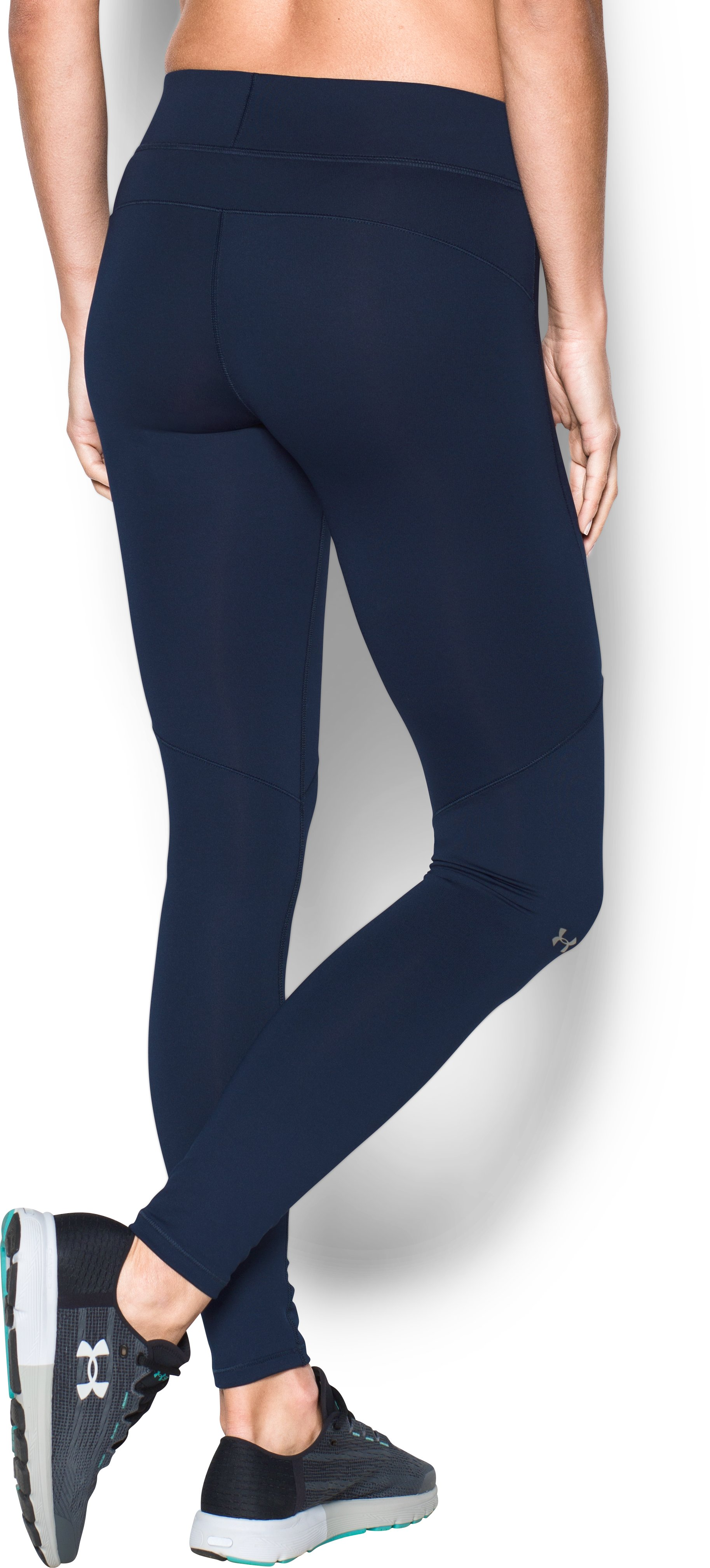 Women's ColdGear® Armour Leggings, Midnight Navy