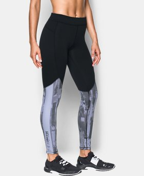 New Arrival Women's ColdGear® Armour Printed Leggings  1 Color $59.99