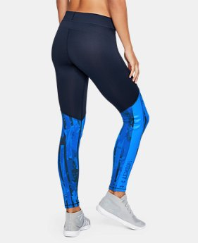 New Arrival  Women's ColdGear® Armour Printed Leggings  4 Colors $69.99