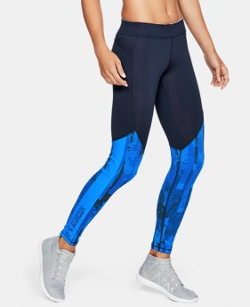 Women's ColdGear® Armour Printed Leggings  4  Colors Available $52.99