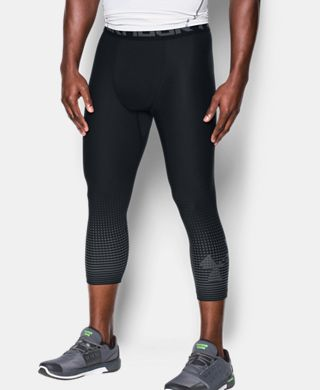 Men's HeatGear® Armour Graphic 3/4 Leggings