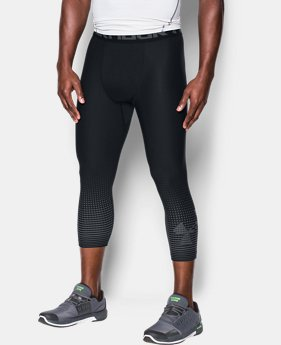 Men's HeatGear® Armour Graphic ¾ Leggings  1 Color $34.99