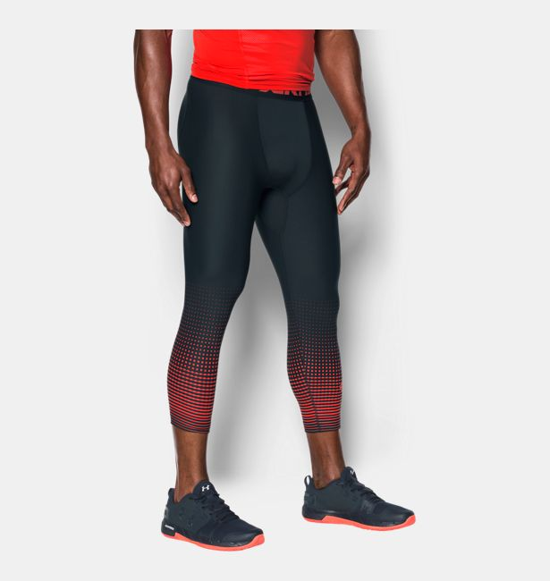 Under Armour HeatGear Armour Graphic 3//4 Men's Leggings New 1298232 Size XXL