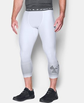 Men's HeatGear® Armour Graphic ¾ Leggings  4 Colors $39.99