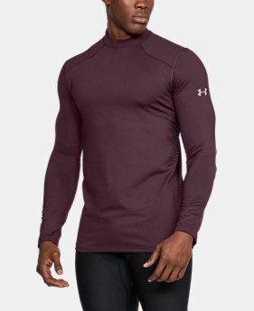 New Arrival Men's ColdGear® Reactor Fitted Long Sleeve  1 Color $54.99