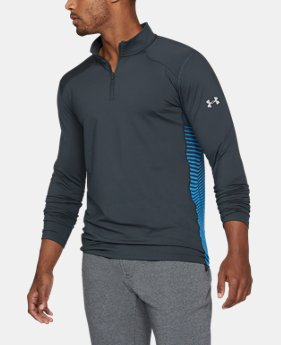 Men's ColdGear® Reactor Fitted ¼ Zip  1  Color Available $74.99