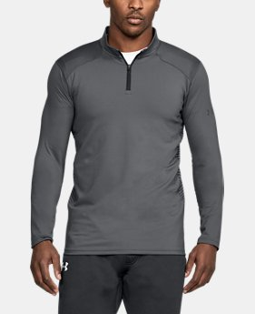 Men's ColdGear® Reactor Fitted ¼ Zip  4 Colors $38.99 to $48.74