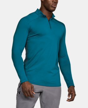 Men's ColdGear® Reactor Fitted ¼ Zip  2 Colors $64.99