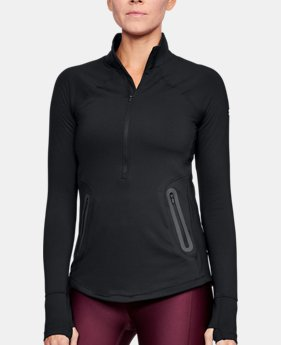 New to Outlet Women's ColdGear® Reactor ½ Zip  1  Color Available $44.99
