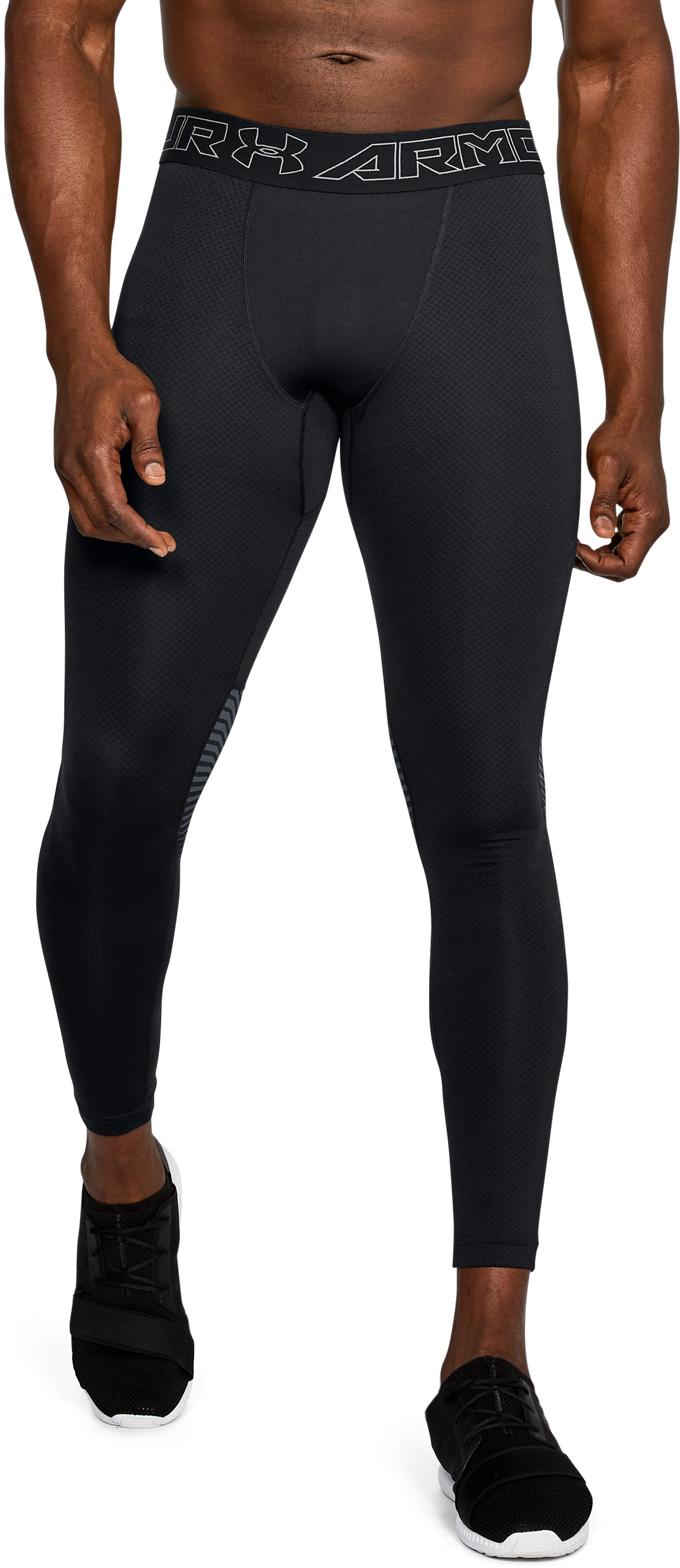 Men's ColdGear® Reactor Leggings, Black