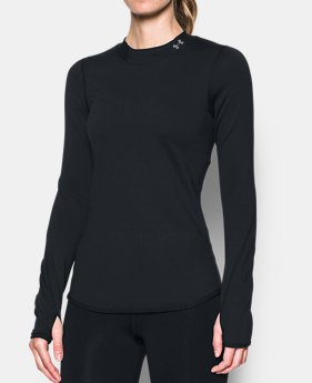 42eb2fa2a29c8 Women s ColdGear® Armour Fitted Mock Neck 1 Color Available  49.99